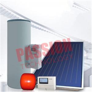 Buy cheap Split Pressurized Solar Water Heater , Flat Plate Water Heater Blue Titanium from wholesalers