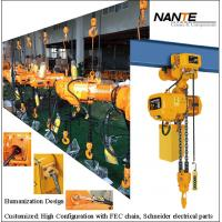 China Maintenance HHBB Electric Chain Hoist With Hook High Configuration wholesale