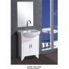 China 60 X48X85/cm PVC stand bathroom cabinet / bathroom vanity / with mirror for bathroom wholesale