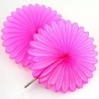 Quality Beautiful Tissue Paper Fan for Party Decoration for sale