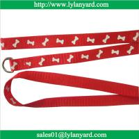 China Nylon Large Small Pet Dog Puppy Animals Supplies Leash Harness Necklace Rope Tie Collar wholesale
