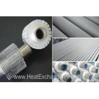 Serrated Extruded Heat Exchanger aluminum Fin Tube , A179 seamless Carbon Steel tubes