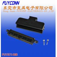 China 180 Degree Plastic Telco 50 Pin IDC Female Type Connector 25 Pairs wholesale