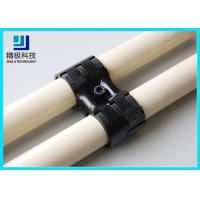China Adjustable Swivel Metal Joint For Rotating In Pipe Rack System Black Fitting HJ-8 wholesale