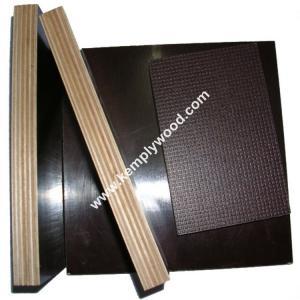China Anti Slip Marine Plywood / Anti-Slip Film Faced Plywood /One side anti slip film faced plywood wholesale