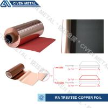 China Red / Black Fatigue Resistance Treated Ra Copper Foil 12um 18um 25um wholesale