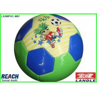 Quality Colorful 2014 Brazil World Cup Soccer Ball Size 5 , Machine Stitched for sale