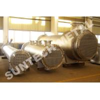 China Nickel Alloy C-276 Floating Head Type Heat Exchanger Condenser 2500mm Diameter wholesale