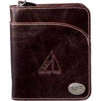 2012 hot selling purple series fashion leather wallet