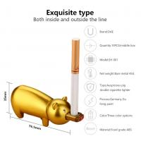China Windproof Portable Usb Rechargeable Cigarette Lighter , Electric Flameless Lighter wholesale