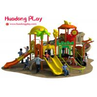 China Colorful Outdoor Plastic Playground Playhouse For 3-12 Years Old Children wholesale