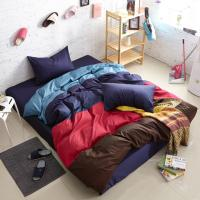 China Wholesale fashion pure Cotton 13372 four color matching bjx230 4colours movie bedding sets wholesale