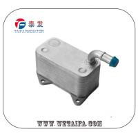 China Original VW / AUDI Engine Oil Cooler TF-1064 , Aluminum Oil Cooler 06D117021C wholesale