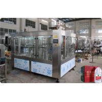 Quality Full Automatic 3 In 1 Drinking Water Filling Plant For 4.5L / 5L PET Bottle for sale