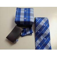 China Sell hotest bu-rberry men suit business high-grade real silk stripes tie knot groom's tie wholesale