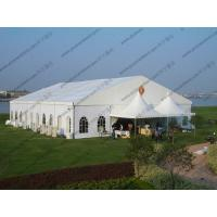 China 20 x 25m White Wedding Event Tents , Outdoor Luxury Tent Wedding Ceremony wholesale