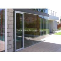 Buy cheap Low Iron 8mm Safety Tempered Glass Panels For Outdoor / Indoor /  Window from wholesalers