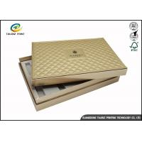 China Folding Cardboard Gift Boxes Charming Silver Printing / Decorative Paper Boxes wholesale