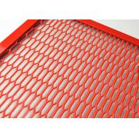China ISO9001 Spraying Aluminum Expanded Metal Mesh For Cab Truck Dividers wholesale