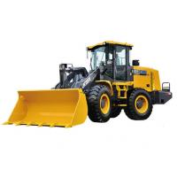 China 4 Wheel Drives LW300FV Earthmoving Machinery compact wheel loader Safe Driving Space on sale