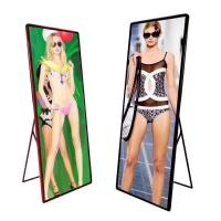 China Floor Standing LED Poster Display , Led Advertising Display Wall Mounted on sale