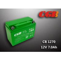 China Rechargeable Lead Acid Battery CB1270MC 12V7Ah Backup UPS Motorcycle Application wholesale