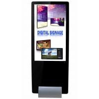 55inch  super slim shopping mall kiosk design narrow bezel lcd digital signage with software