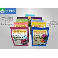 Quality Re - Closeable Plastic Pouch Packaging Rainbow Colors Organic Fertilizer Use for sale