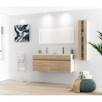 China White Table Modern Style 120 Inch Bathroom Vanity For Small Bathrooms wholesale