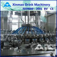 Quality PLC Drink / Mineral Water Bottle Filling Machine Plant 12 - 50 Heads for sale