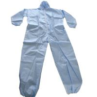 China Liquid Blocking Disposable Isolation Clothing Disposable Chemical Suit Lightweight Design wholesale