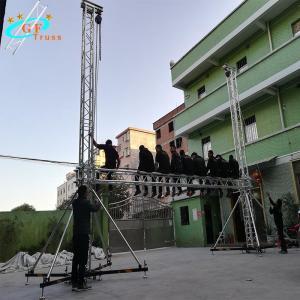 China Mobile DJ Outdoor 6082 Aluminum Spigot Truss For Concert Event wholesale