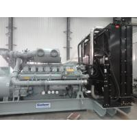 China Industrial MITSUBISHI Generator Set 50HZ / 1500RPM Coupled With Stamford Alternator wholesale