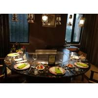 Buy cheap Teppanyaki with Built-in Air Blower and Electrostatic Fume Purifier used for from wholesalers