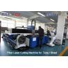 China 380V / 50Hz / 60Hz CNC Fiber Laser Cutting Machine For Tube / Sheet Cutting wholesale