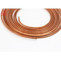 China 5 / 16 Inch Copper Pancake Coil Custom Length For Refrigerator / Water Heater wholesale