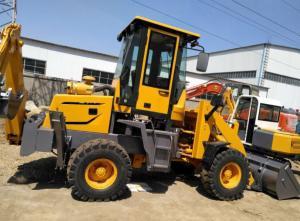 China 50hp Mini Tractor Backhoe Loader , 3t Front End Loader Backhoe wholesale