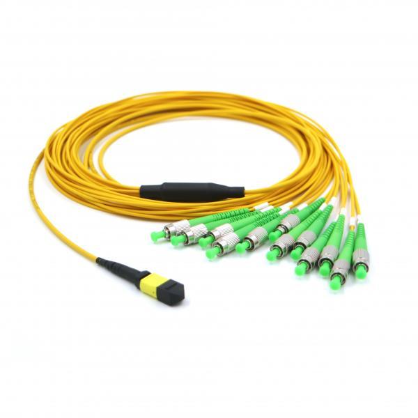 Quality Single Mode SM 12 Core FC APC Simplex MPO MTP for sale