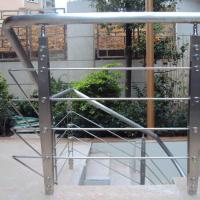 China Best Quality s.s Solid Rod Bar Railing Price / Balcony Stainless Steel Rod Bar Railing Design wholesale