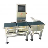 Buy cheap LCD Display Type Weight Checking Machine With High Accuracy Rejection System from wholesalers