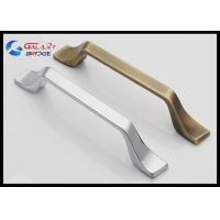 China Modern Kitchen Cabinet Handles And Knobs American Stylish Square Zinc Drawer Knobs wholesale