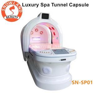 China 110v/220v Ozone Dry SPA Infrared Sauna Capsule With Photon Light Magic Tunnel wholesale