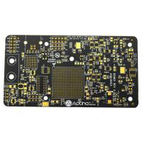 China High TG Black Soldermask Prototype Multi Layer Pcb Laser Drill Communicate Electronics Board on sale