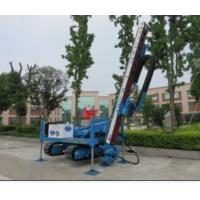 Buy cheap Anchor Drilling Rig Foundation Pile Drilling Machine For Jet Grouting / Water Well from wholesalers