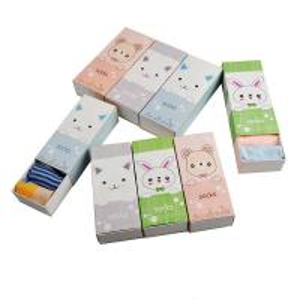 China Customized Printing Socks Gift Box , Cardboard Paper Packaging For Socks wholesale