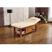China 1.9m Long Stationary Massage Bed , Beauty Treatment Couch Colors Avilable wholesale