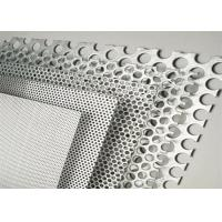 Buy cheap Color Coated Decorative Perforated Aluminum Sheet Metal With Pvdf Coating from wholesalers