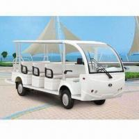 Buy cheap 14-seater Electric Bus with 2-point Seat Belts and Front/Rear Tires from wholesalers