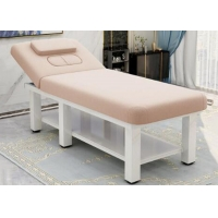 China Multifunction Beech Beauty Salon Bed Massage Parlor With 80cm Width wholesale