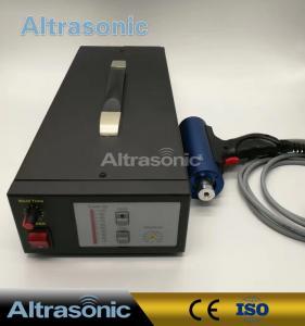 China Titanium / Aluminium Alloy 28Khz Ultrasonic Riveting Welding Machine For Fabric / Plastic Bonding wholesale